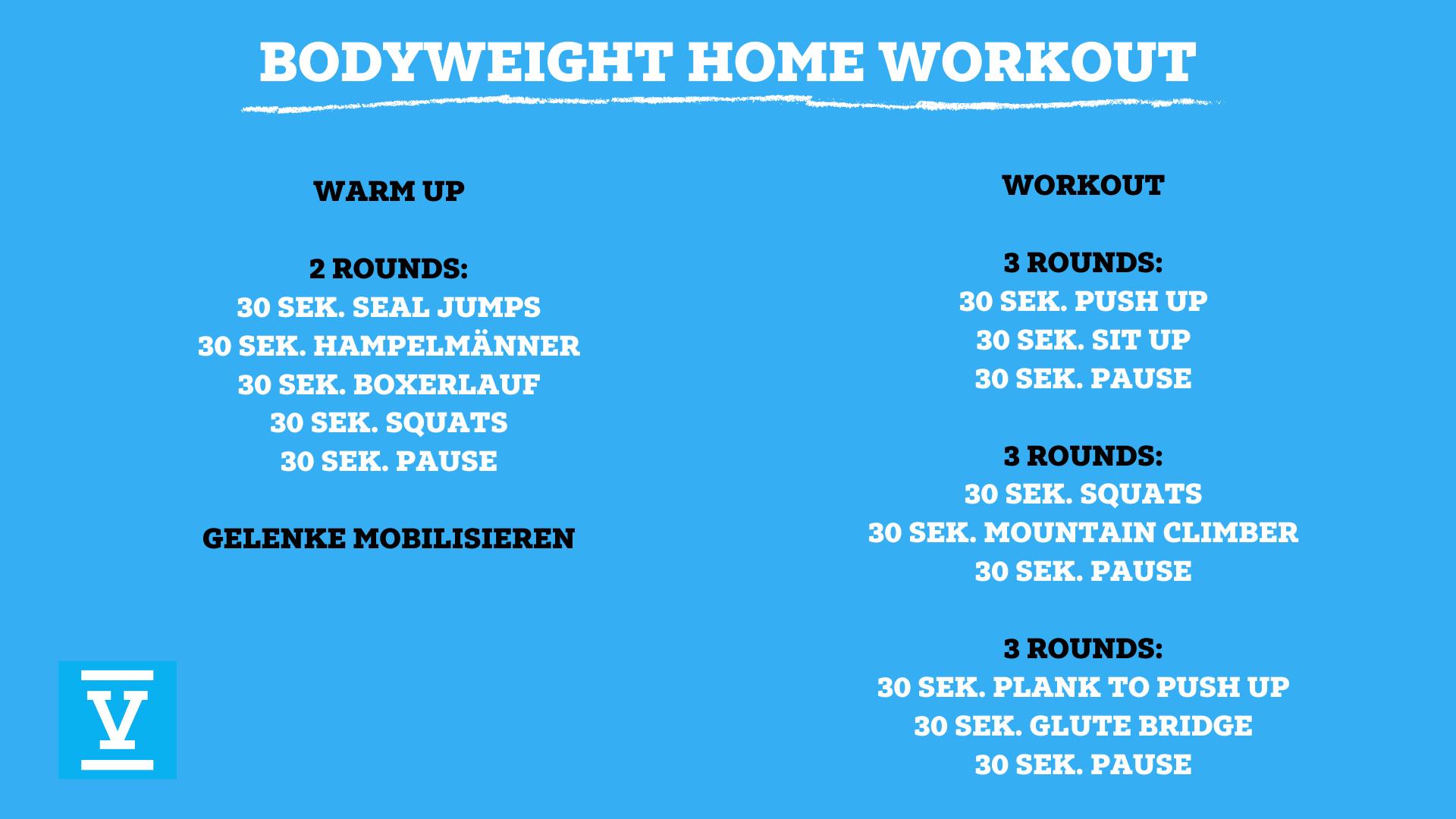 Bodyweight Home Workout