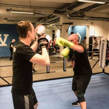 Personal Training in Wien bei FIVE Fitness Boxen Krav Maga