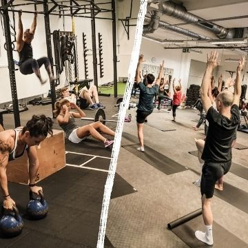 Functional Training und Yoga in Wien bei FIVE Fitness Boxen Krav Maga