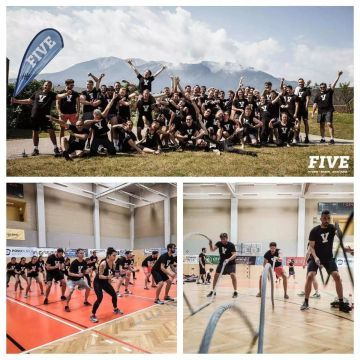 Training Camp von FIVE Fitness Boxen Krav Maga