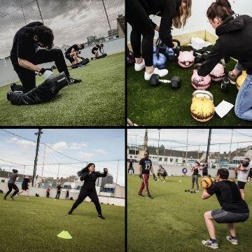 Outdoor Training in Wien bei FIVE Fitness Boxen Krav Maga
